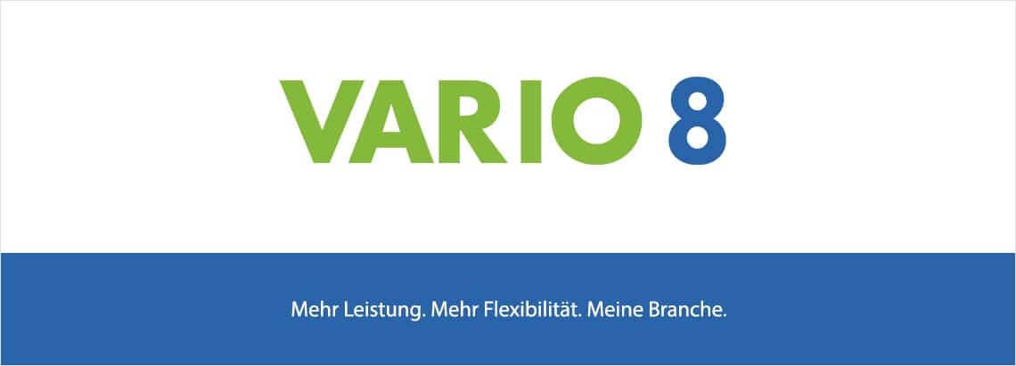 VARIO launcht VARIO 8 mit vielen neuen Features und Funktionen