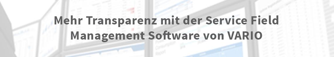 VARIO Warenwirtschaft: Field Service Management Software, Werkstatt, Reparatur, Service & Garantieabwicklung.