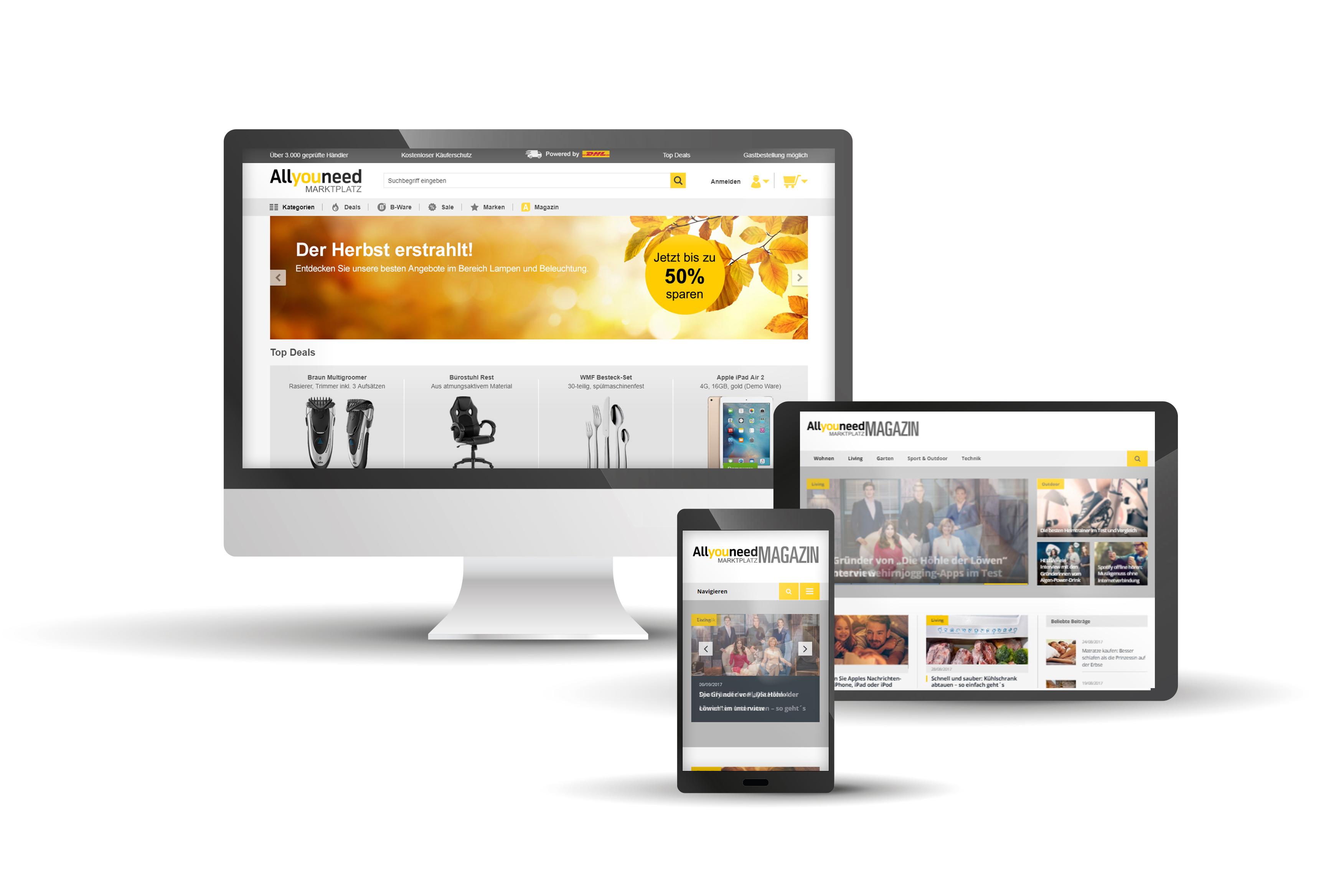 VARIO – Optimiertes Warenwirtschaftssystem für Ihren Allyouneed-Marketplace