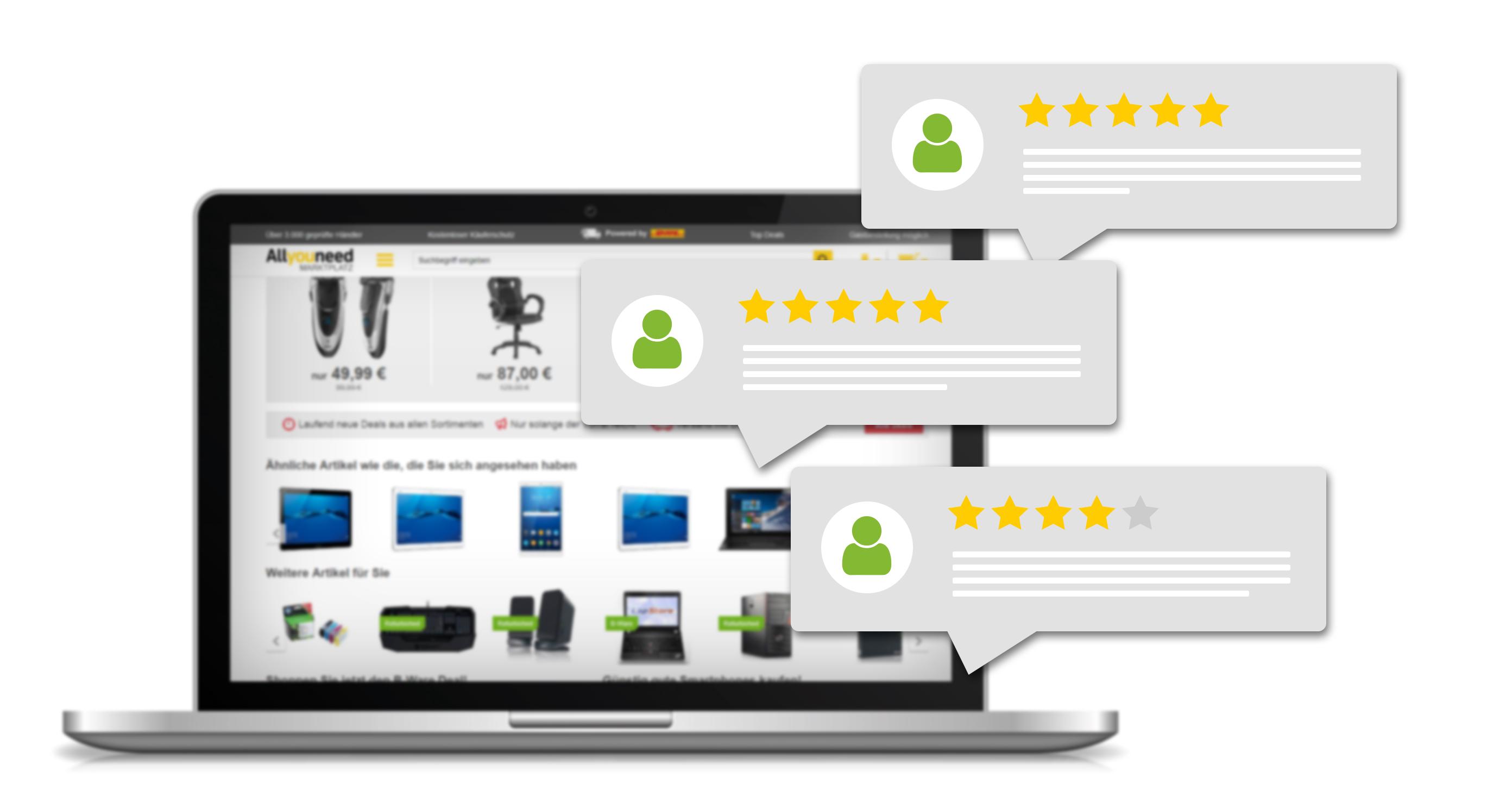 Verbinden Sie das VARIO Warenwirtschaftssystem mit Ihrem Allyouneed-Marketplace über die integrierten Schnittstellen
