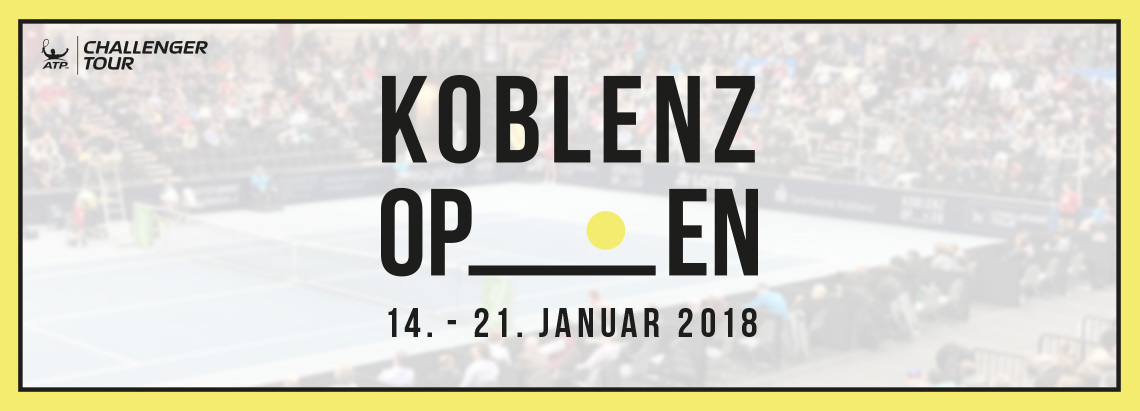 ATP Challenger Koblenz Open - VARIO Software AG ist offizieller Co-Sponsor