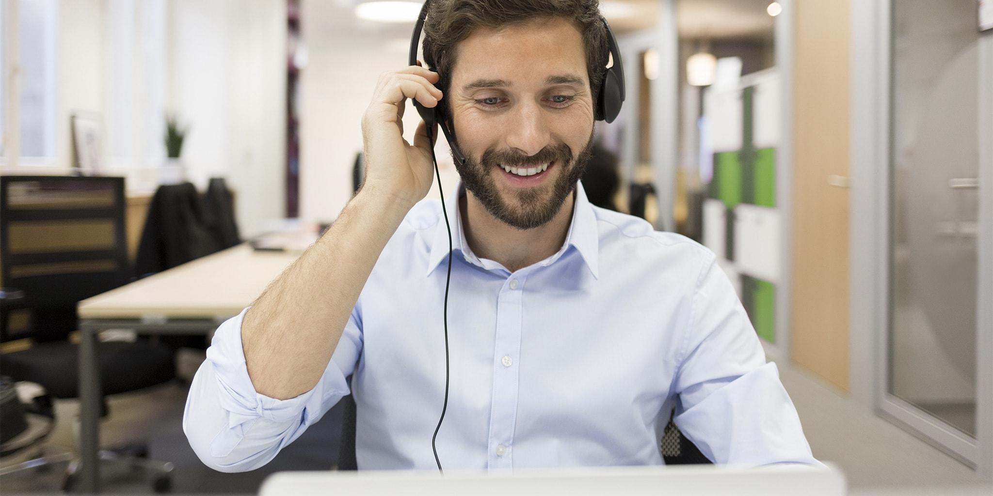 Kostenlose Onlinevorführung zur VARIO Field-Service Software mit einem Kundenberater vereinbaren