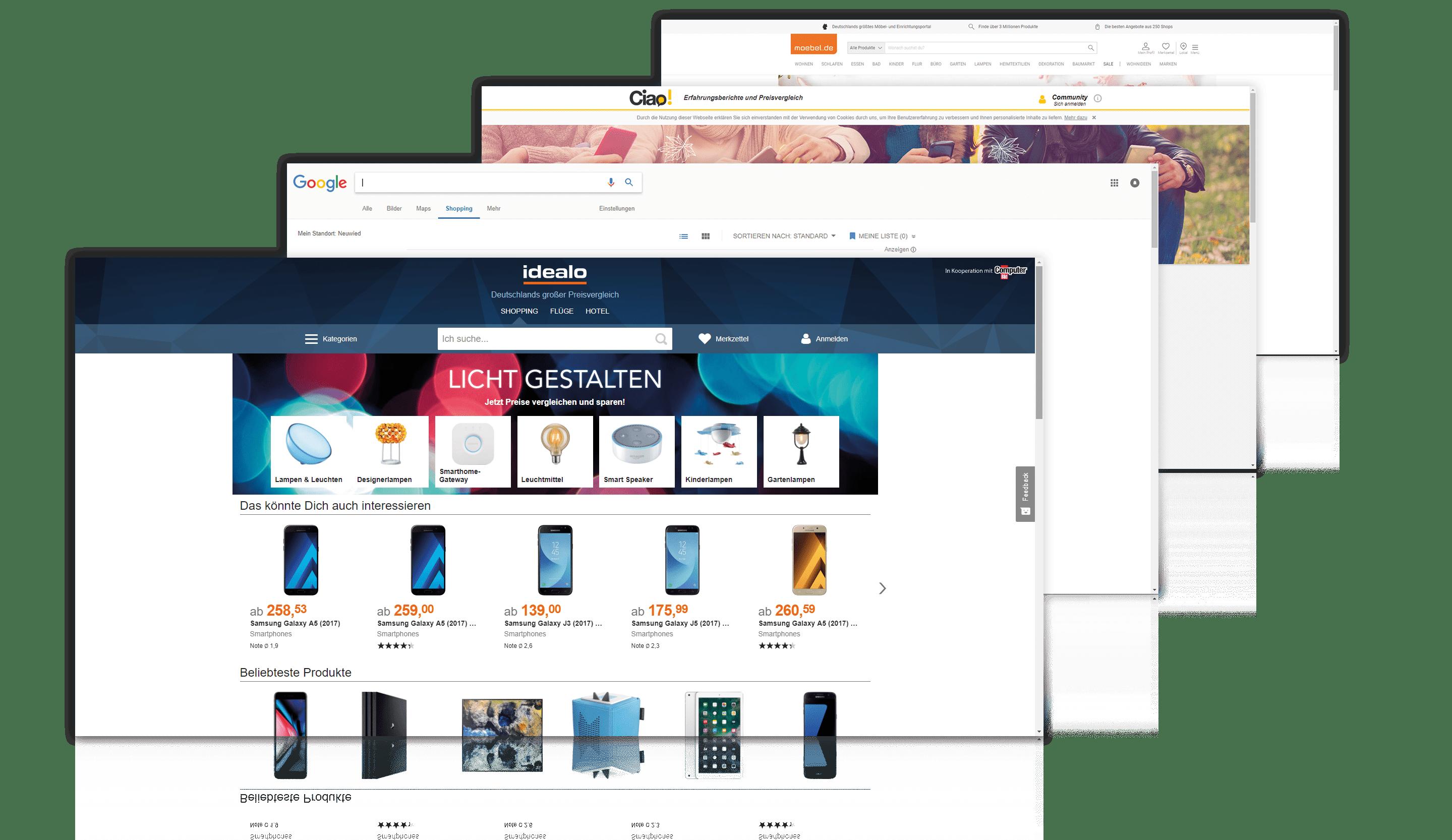 Anbindung via Schnittstelle an wichtige Preisvergleichsportale für erfolgreichen Omni-Channel mit der VARIO Warenwirtschaft