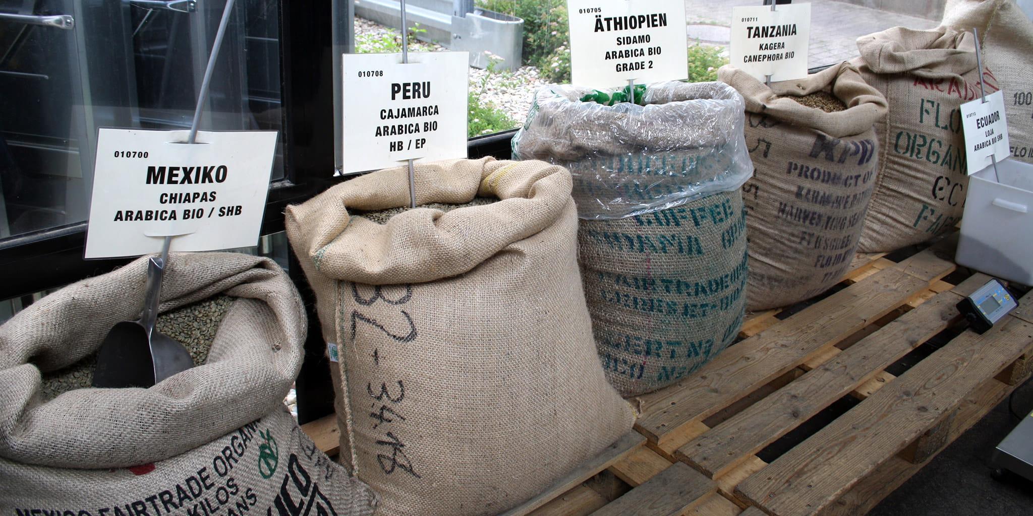 CONTIGO Kaffeesorten