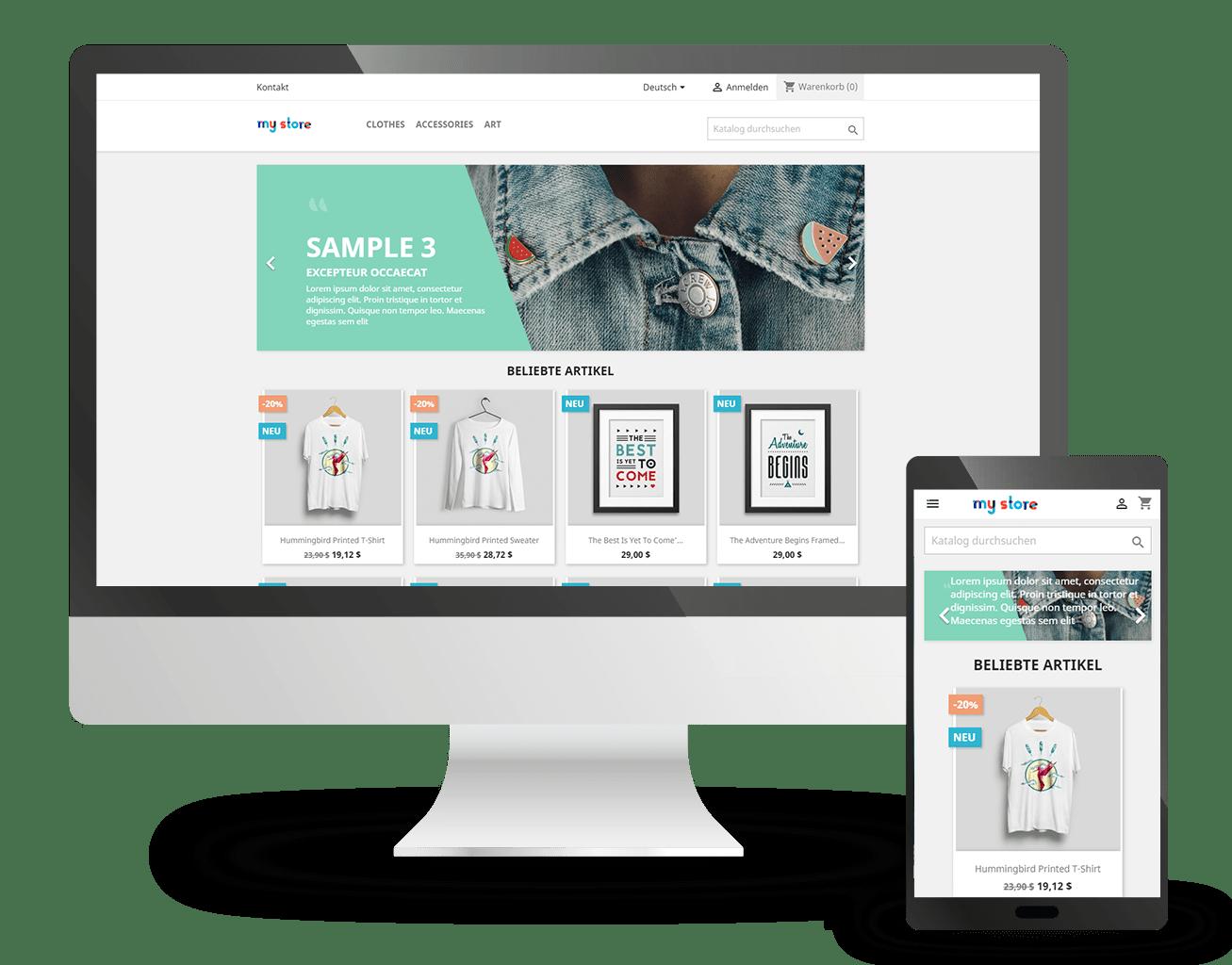 PrestaShop Artikelsortiment mit der VARIO Warenwirtschaft zentral verwalten