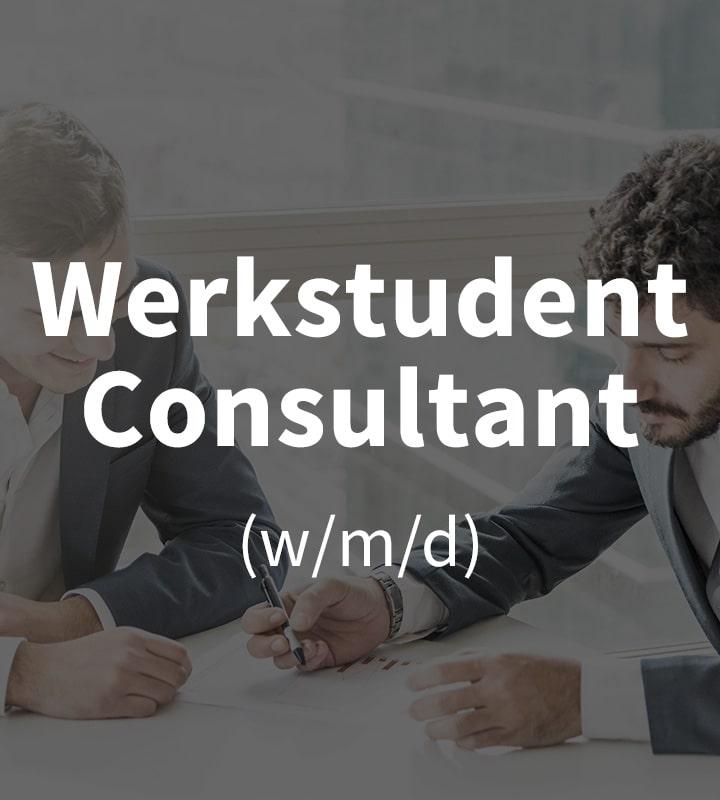 Wir suchen Mitarbeiter im Consulting!