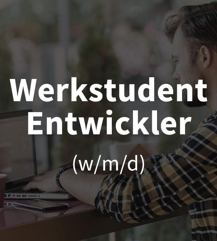 Wir suchen Werksstudenten (w/m/d)!