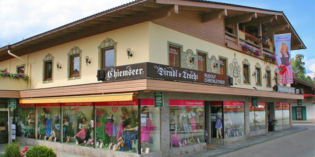 Ladengeschäft Chiemseer Dirndl und Tracht