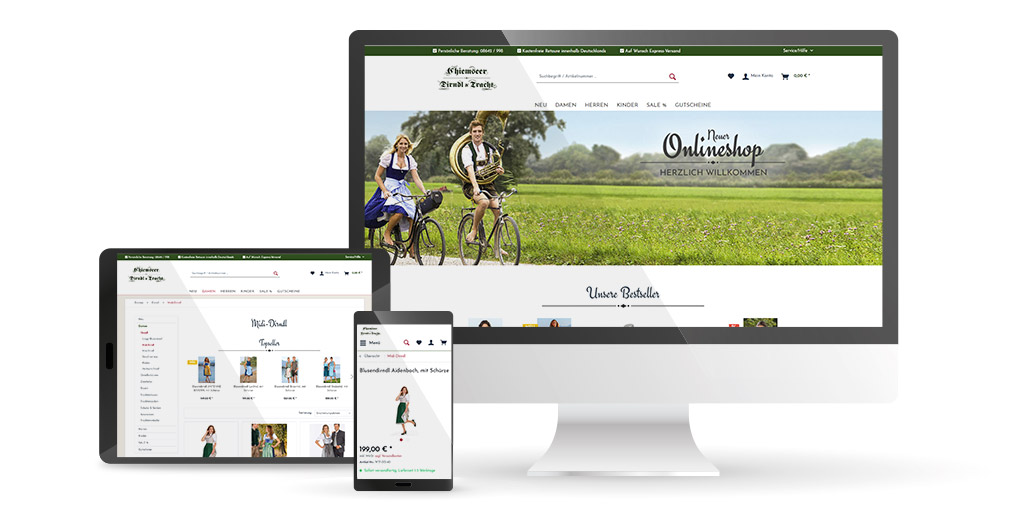 Beispiele VARIO Onlineshops