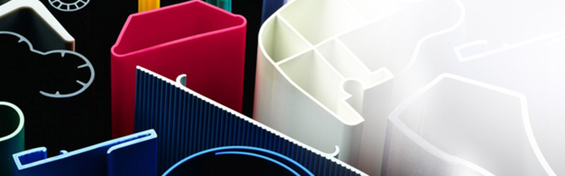 Verschiedenen Kunststoffformen