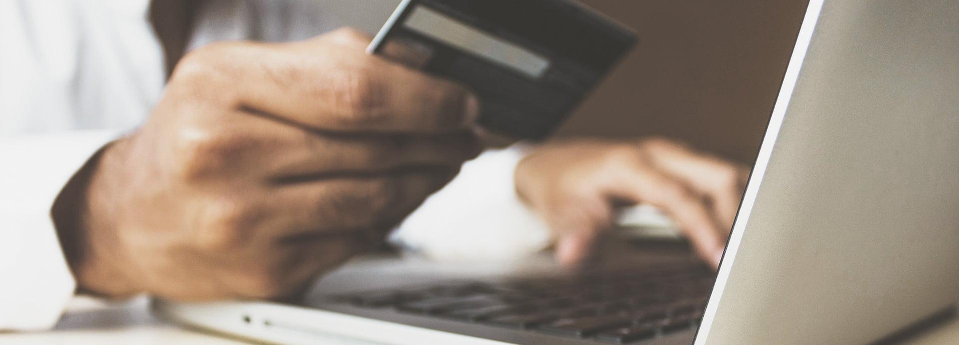 Onlinezahlung mit Kreditkarte