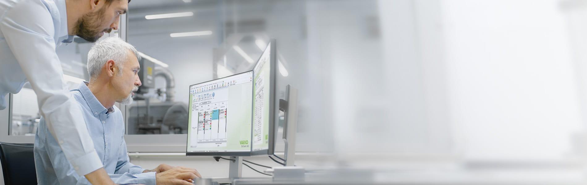 Arbeiten mit ERP-Systemen