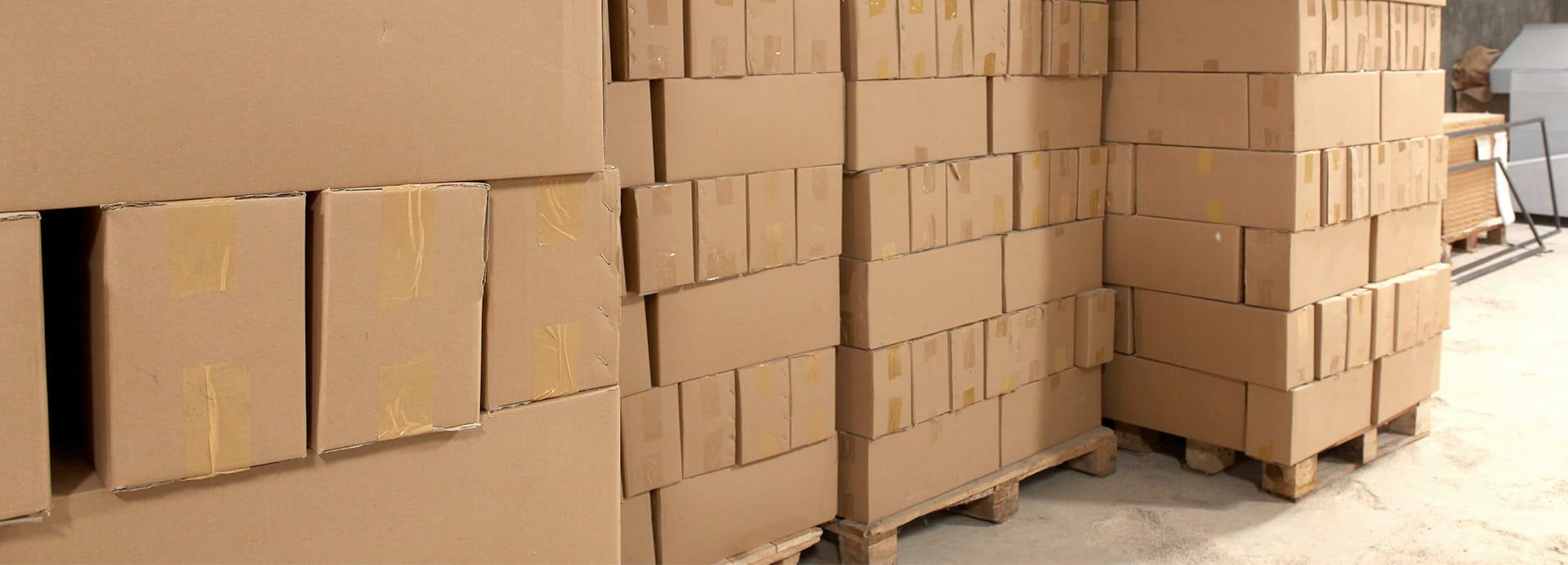 Pakete zum Versand