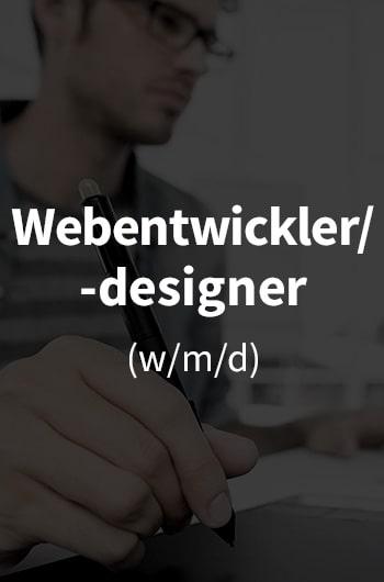 Wir suchen Webentwickler/-designer (w/m/d)!
