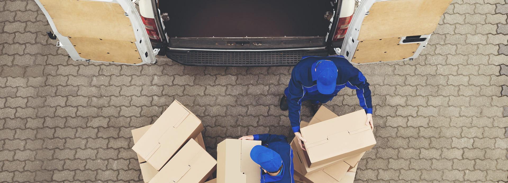 Paketlieferdienst