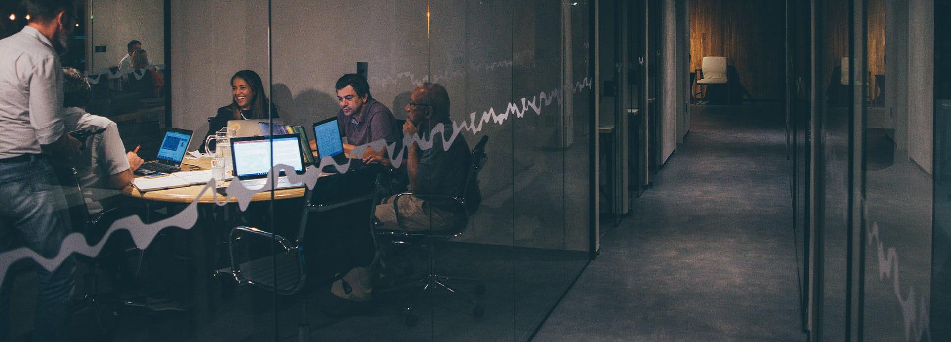 Meeting bei Startup