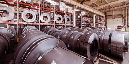 Lagerregale Produktionsunternehmen