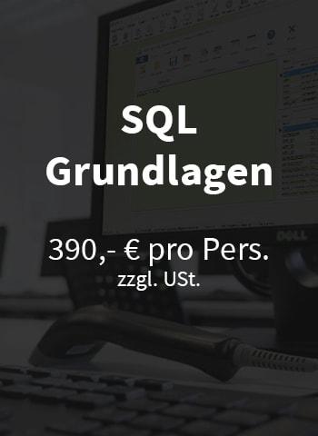 SQL Schulung VARIO
