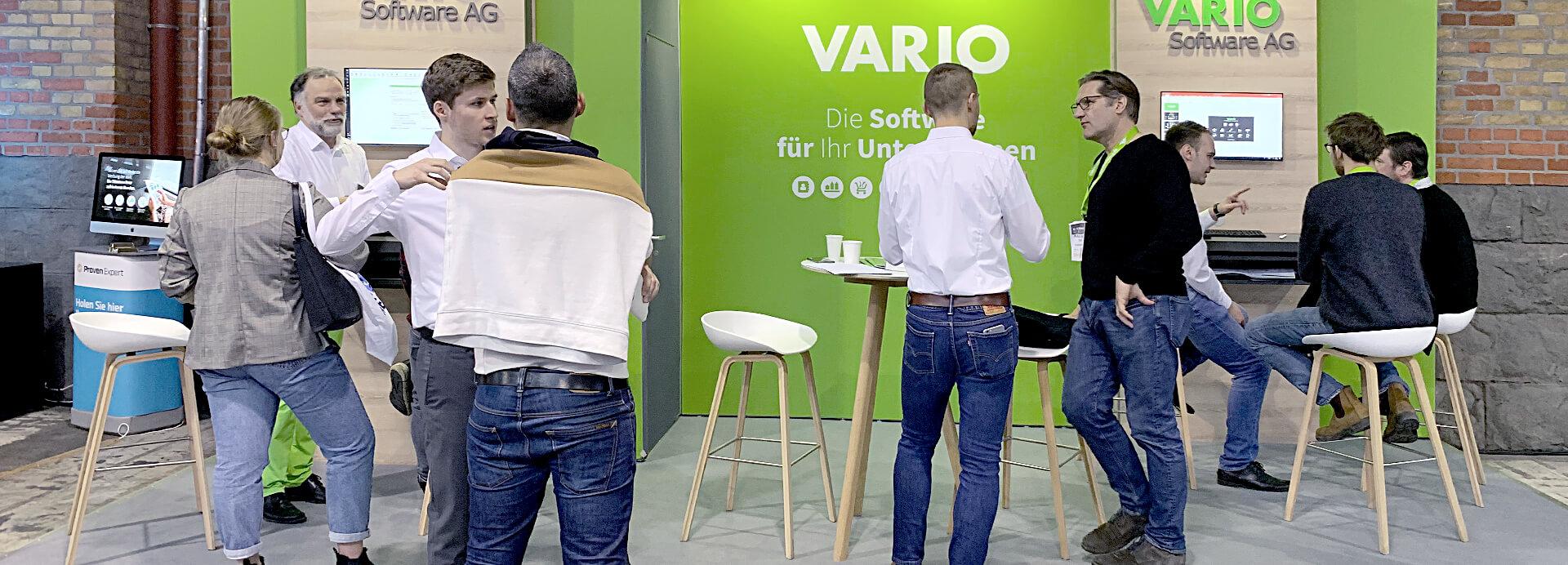 VARIO Messestand auf der Berlin EXPO