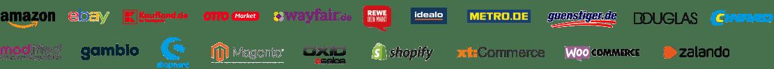 VARIO E-Commerce Schnittstellen