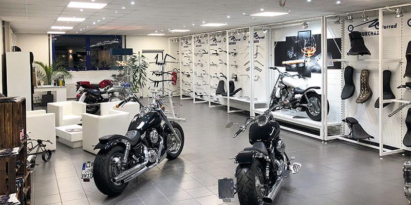 Showroom Motorrad Burchard