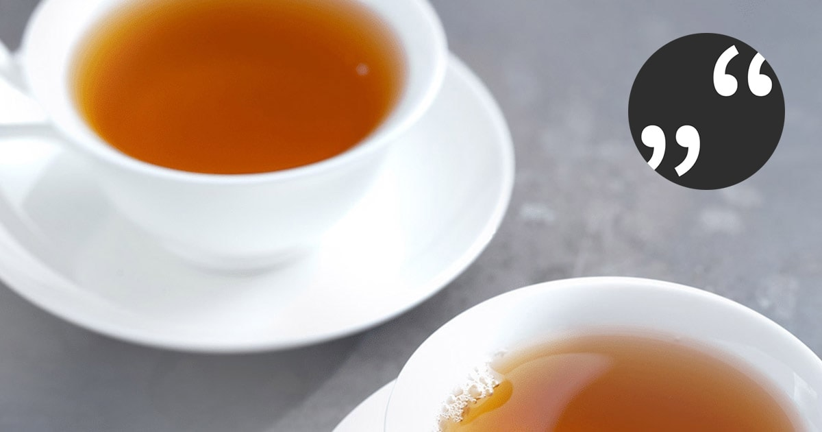 Erfahrungsbericht aus der Teebranche