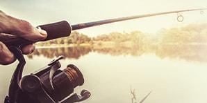 Angler an See