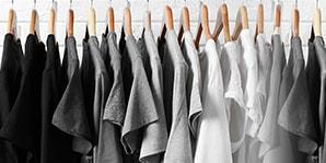 T-Shirts im Ladengeschäft