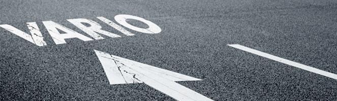 Road mit Bemalung