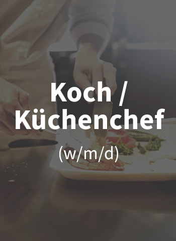 Wir suchen Koch / Küchenchef (m/w/d)!