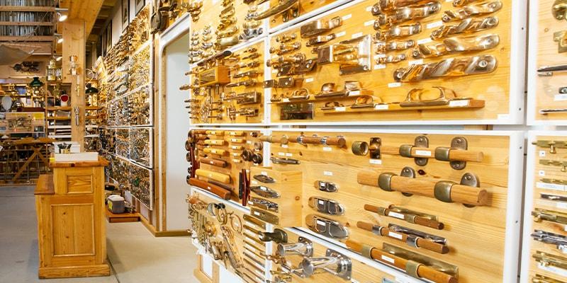 Showroom von Schiffsausrüster TOPLICHT aus Hamburg