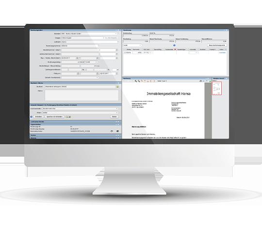 Rechnungsbearbeitung WebIC mit FibuNet