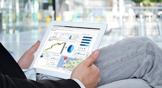 Auswertungen mit FibuNet über Tablet aufrufen