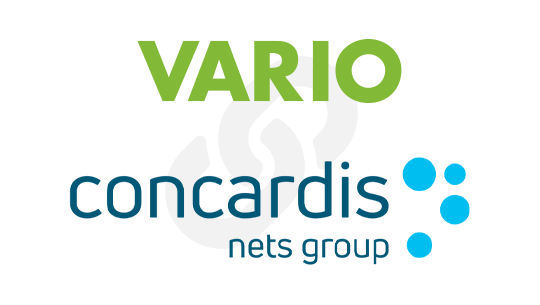 VARIO und Concardis Logos