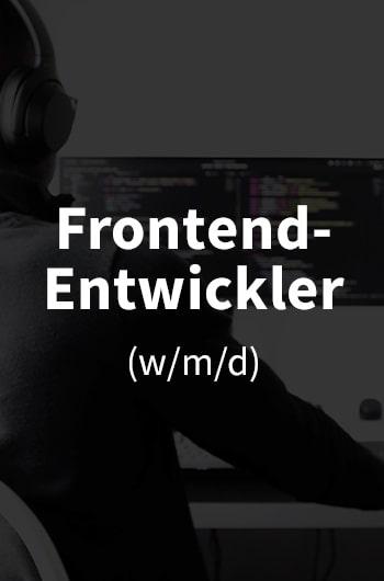 Offene Stelle in der IT: Frontend-Entwickler gesucht